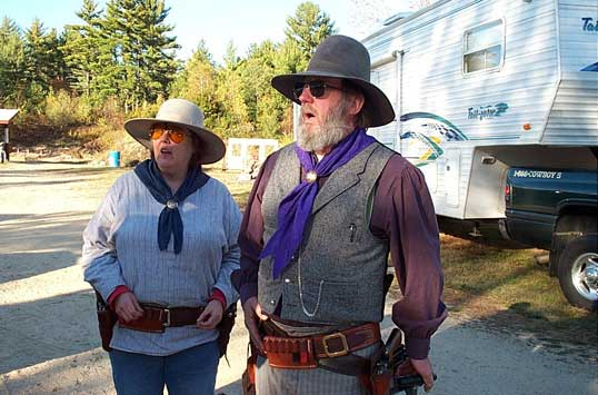 Rawhide Rod with Pistol Packing Punky at Ghost Riders Revenge at Kinnicum Creek.